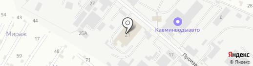 Марма на карте Пятигорска