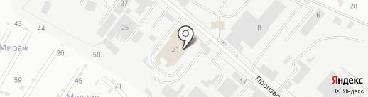 Вист-Пятигорск на карте Пятигорска