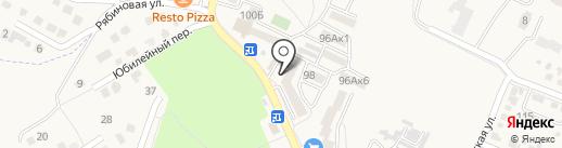 Магазин автозапчастей на карте Железноводска