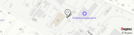 Точка доступа на карте Пятигорска