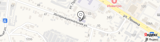 Апельсин на карте Железноводска