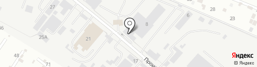 Кавминводыавто на карте Пятигорска