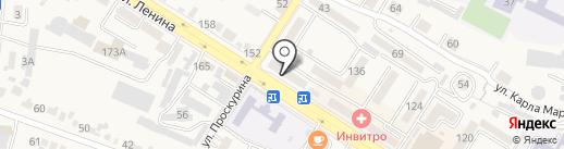 Банкомат, Ставропольпромстройбанк на карте Железноводска