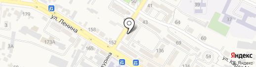 Фиеста на карте Железноводска