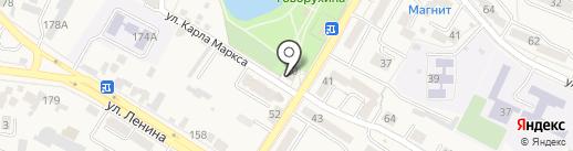 Газпром межрегионгаз Ставрополь на карте Железноводска