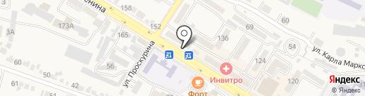 Банкомат, Ставропольпромстройбанк, ПАО на карте Железноводска