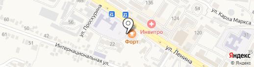 Дачник на карте Железноводска