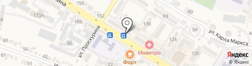 Санги Стиль на карте Железноводска