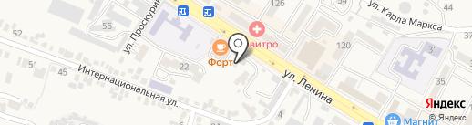 Стройматериалы на карте Железноводска