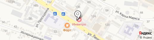 ТАМАДА на карте Железноводска