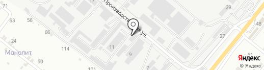 АПС на карте Пятигорска