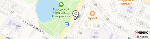 Магазин канцелярских товаров на карте Железноводска