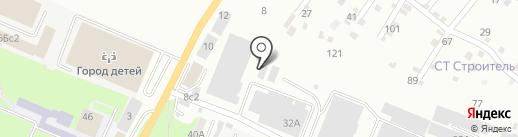 НикКомед на карте Пятигорска