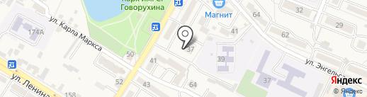 Дента на карте Железноводска