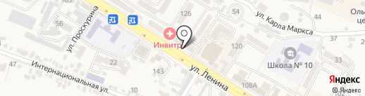 Центральная городская библиотека на карте Железноводска