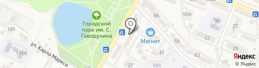 Федерация воздухоплавания Ставропольского края на карте Железноводска
