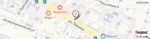 Московская ярмарка на карте Железноводска