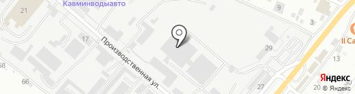 Термоклуб на карте Пятигорска