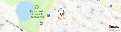 Провинция Баярд на карте Железноводска