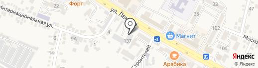 Пункт технического осмотра на карте Железноводска