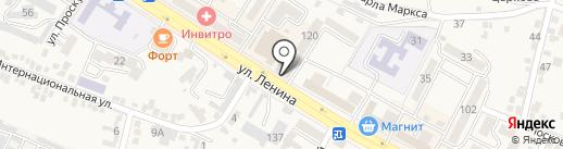 Фотоартель Контраст на карте Железноводска