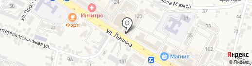 Одевайка-Мир Детства на карте Железноводска