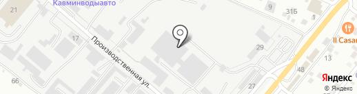 Грундфос на карте Пятигорска