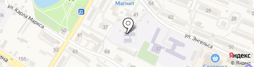 Детский сад №10 на карте Железноводска
