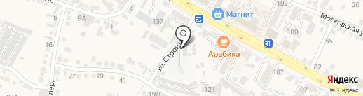 Кавминводский центр профессиональной подготовки Федерального дорожного агентства на карте Железноводска