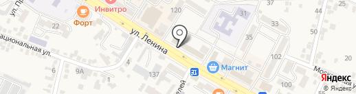 Золотой Век 585 на карте Железноводска