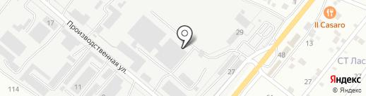 Лиссант-КМВ на карте Пятигорска