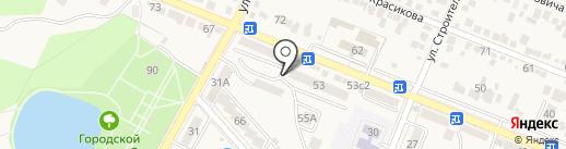 Почтовое отделение №15 на карте Железноводска