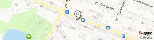 Магазин кондитерских изделий на карте Железноводска