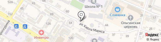 Разнобытсервис на карте Железноводска
