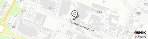 Мебель КМВ-26 на карте Пятигорска