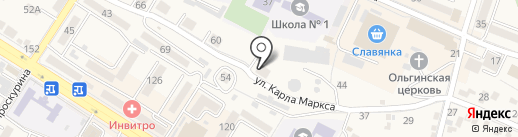 Пятигорскторгтехника, ПАО на карте Железноводска