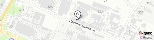 Азерчай на карте Пятигорска