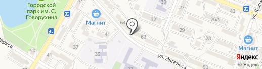 Отдел вневедомственной охраны Управления МВД РФ по г. Железноводску на карте Железноводска