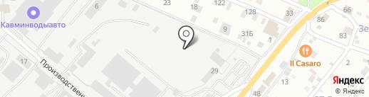 Прометей-Юг на карте Пятигорска