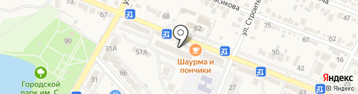Монро на карте Железноводска