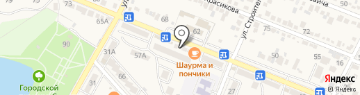 Келлерс на карте Железноводска