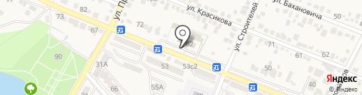 Отдел МВД России по г. Железноводску на карте Железноводска
