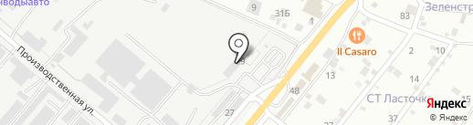 ЕвроПолДизайн на карте Пятигорска