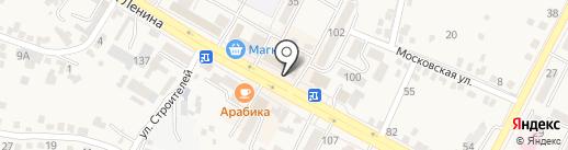 Вкусняшка на карте Железноводска