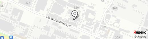 МС-Моторс на карте Пятигорска