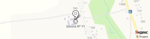 Средняя общеобразовательная школа №11 на карте Юц