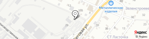 Газпром на карте Пятигорска