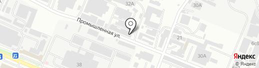 Простор-торг на карте Пятигорска