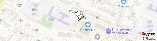Продовольственный магазин на карте Железноводска