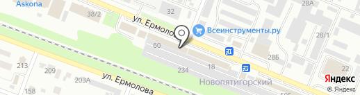 Кухня своими руками на карте Пятигорска